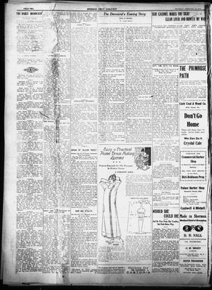 Primary view of object titled 'Sherman Daily Democrat (Sherman, Tex.), Vol. THIRTY-FOURTH YEAR, Ed. 1 Thursday, February 18, 1915'.