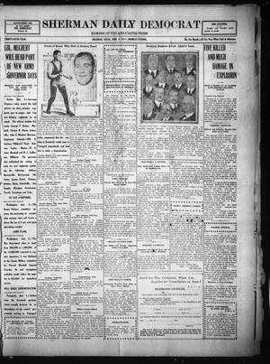 Primary view of object titled 'Sherman Daily Democrat (Sherman, Tex.), Vol. THIRTY-SIXTH YEAR, Ed. 1 Monday, June 4, 1917'.