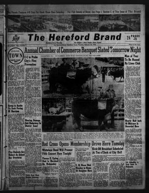 Primary view of object titled 'The Hereford Brand (Hereford, Tex.), Vol. 48, No. 9, Ed. 1 Thursday, February 26, 1948'.