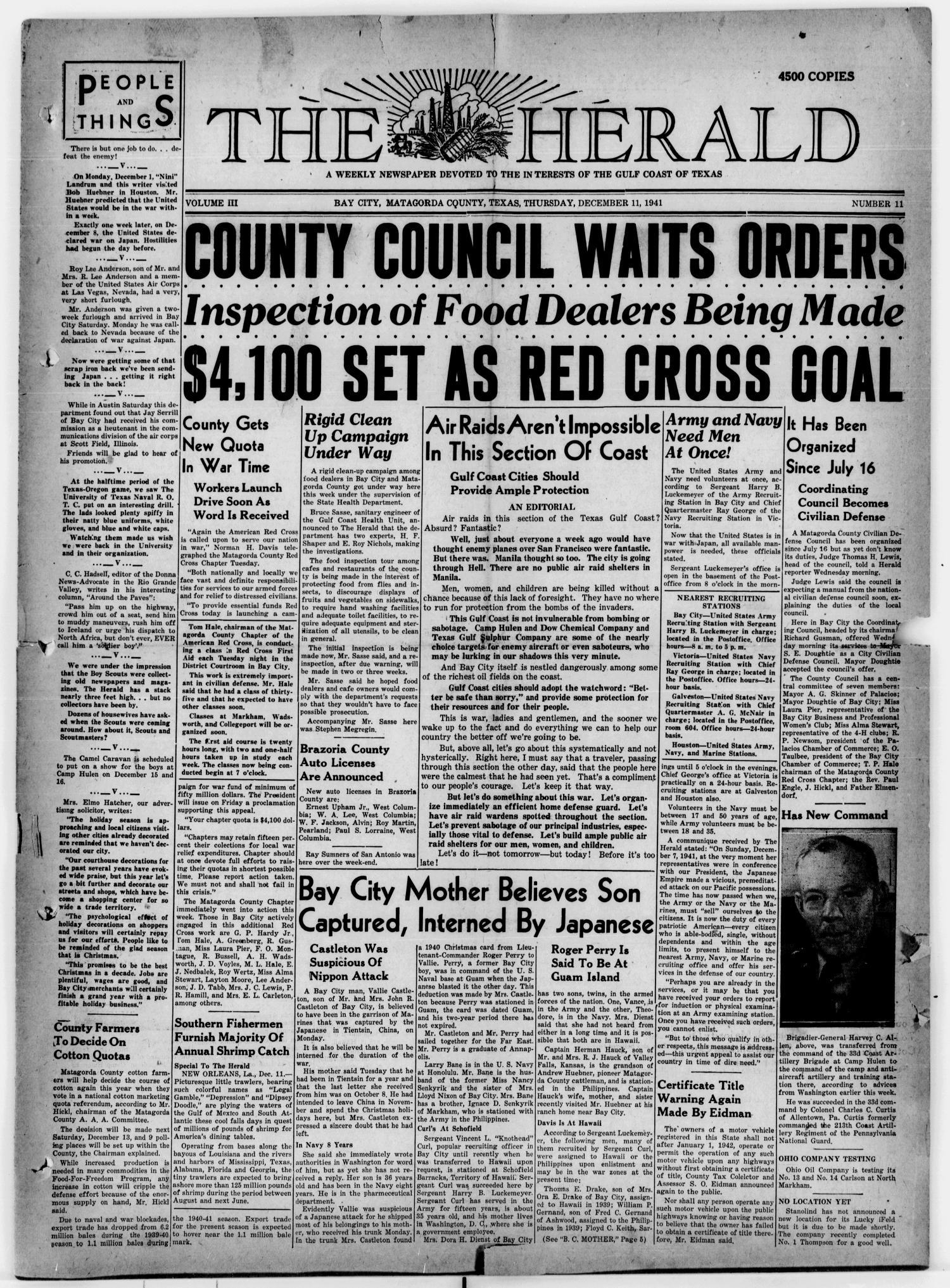 on 3 11 1941