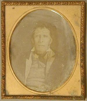 Daguerreotype of Henry Jones