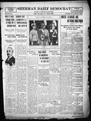 Primary view of object titled 'Sherman Daily Democrat (Sherman, Tex.), Vol. THIRTY-SIXTH YEAR, Ed. 1 Thursday, March 1, 1917'.