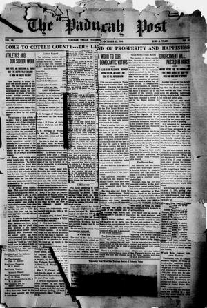 Primary view of object titled 'The Paducah Post (Paducah, Tex.), Vol. 9, No. 23, Ed. 1 Thursday, October 22, 1914'.