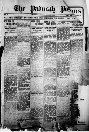 Primary view of object titled 'The Paducah Post (Paducah, Tex.), Vol. 9, No. 31, Ed. 1 Thursday, December 17, 1914'.