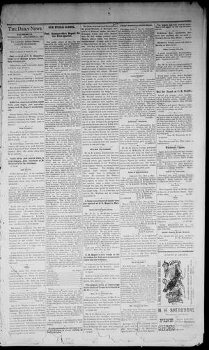 Primary view of object titled 'Denison Daily News. (Denison, Tex.), Vol. 4, No. 258, Ed. 1 Wednesday, December 20, 1876'.