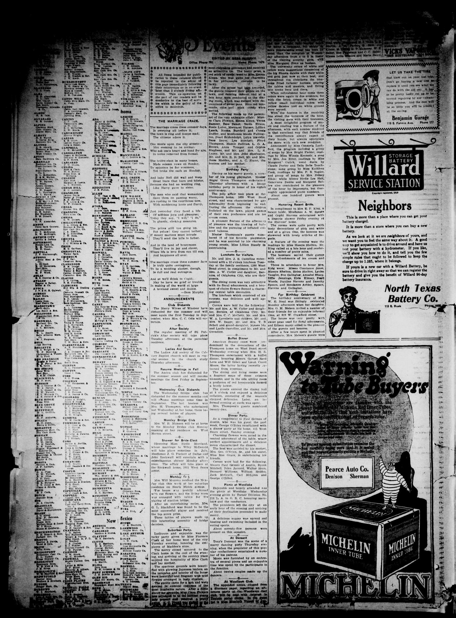 The Denison Herald Denison Tex Vol 29 No 242 Ed 1 Saturday