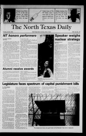 Primary view of object titled 'The North Texas Daily (Denton, Tex.), Vol. 66, No. 107, Ed. 1 Tuesday, April 26, 1983'.