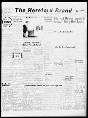 The Hereford Brand (Hereford, Tex.), Vol. 49, No. 14, Ed. 1 Thursday, April 7, 1949