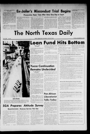 Primary view of object titled 'The North Texas Daily (Denton, Tex.), Vol. 57, No. 45, Ed. 1 Tuesday, November 20, 1973'.