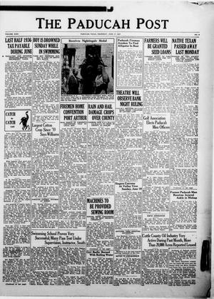Primary view of The Paducah Post (Paducah, Tex.), Vol. 31, No. 9, Ed. 1 Thursday, June 17, 1937