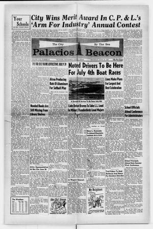 Primary view of object titled 'Palacios Beacon (Palacios, Tex.), Vol. 62, No. 25, Ed. 1 Thursday, June 19, 1969'.