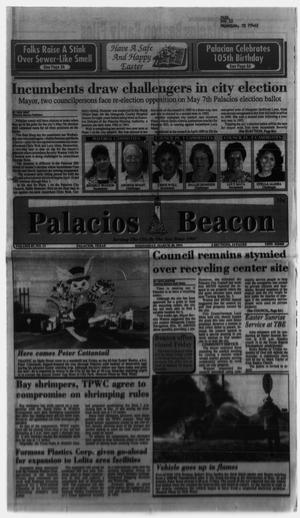 Primary view of object titled 'Palacios Beacon (Palacios, Tex.), Vol. 87, No. 13, Ed. 1 Wednesday, March 30, 1994'.