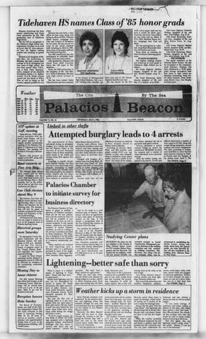 Primary view of object titled 'Palacios Beacon (Palacios, Tex.), Vol. 78, No. 18, Ed. 1 Thursday, May 2, 1985'.
