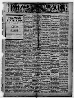 Primary view of object titled 'Palacios Beacon (Palacios, Tex.), Vol. 9, No. 32, Ed. 1 Friday, August 24, 1917'.