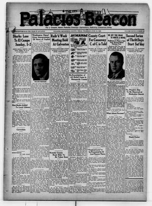Primary view of Palacios Beacon (Palacios, Tex.), Vol. 28, No. 23, Ed. 1 Thursday, June 13, 1935