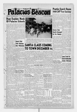 Primary view of Palacios Beacon (Palacios, Tex.), Vol. 44, No. 48, Ed. 1 Thursday, November 29, 1951