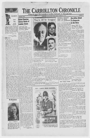 Primary view of The Carrollton Chronicle (Carrollton, Tex.), Vol. 39, No. 15, Ed. 1 Friday, February 12, 1943