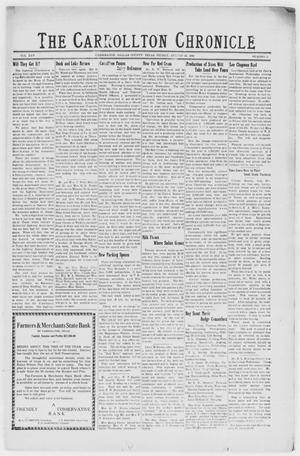 Primary view of object titled 'The Carrollton Chronicle (Carrollton, Tex.), Vol. 25, No. 41, Ed. 1 Friday, August 30, 1929'.
