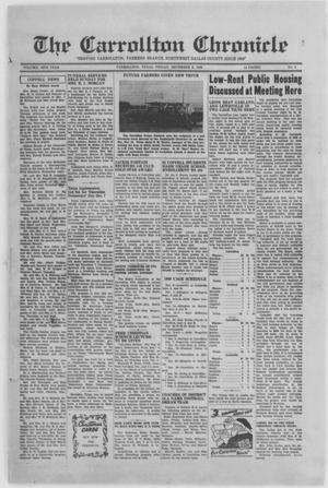 Primary view of object titled 'The Carrollton Chronicle (Carrollton, Tex.), Vol. 46TH YEAR, No. 4, Ed. 1 Friday, December 2, 1949'.