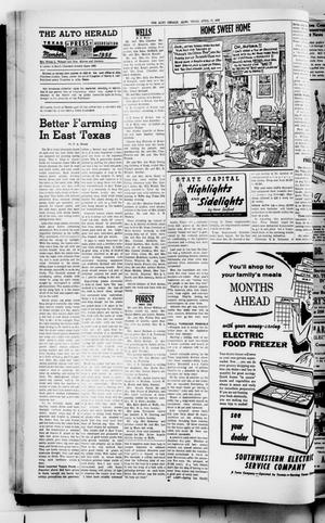 The Alto Herald (Alto, Tex.), No. 45, Ed. 1 Thursday, April 17, 1958