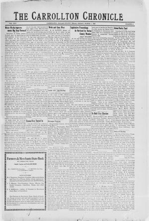 Primary view of object titled 'The Carrollton Chronicle (Carrollton, Tex.), Vol. 25, No. 15, Ed. 1 Friday, March 1, 1929'.