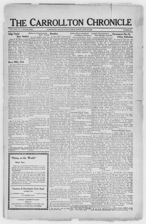Primary view of object titled 'The Carrollton Chronicle (Carrollton, Tex.), Vol. 29, No. 32, Ed. 1 Friday, June 23, 1933'.