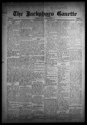 Primary view of object titled 'The Jacksboro Gazette (Jacksboro, Tex.), Vol. 51, No. 40, Ed. 1 Thursday, March 5, 1931'.