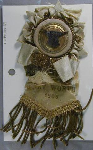 Primary view of object titled '[Beige ribbon]'.