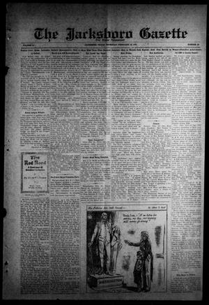 Primary view of object titled 'The Jacksboro Gazette (Jacksboro, Tex.), Vol. 51, No. 38, Ed. 1 Thursday, February 19, 1931'.