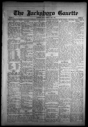 Primary view of object titled 'The Jacksboro Gazette (Jacksboro, Tex.), Vol. 51, No. 49, Ed. 1 Thursday, May 7, 1931'.