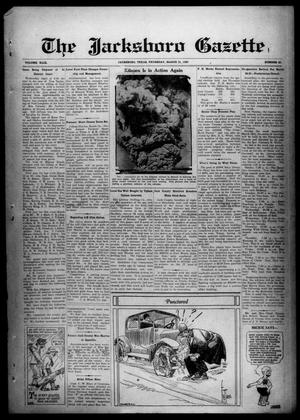 Primary view of object titled 'The Jacksboro Gazette (Jacksboro, Tex.), Vol. 49, No. 42, Ed. 1 Thursday, March 21, 1929'.