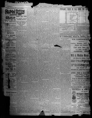 Primary view of object titled 'Jacksboro Gazette. (Jacksboro, Tex.), Vol. 15, No. 15, Ed. 1 Thursday, September 13, 1894'.