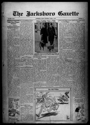 Primary view of object titled 'The Jacksboro Gazette (Jacksboro, Tex.), Vol. 49, No. 44, Ed. 1 Thursday, April 4, 1929'.