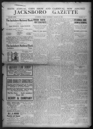 Primary view of object titled 'Jacksboro Gazette (Jacksboro, Tex.), Vol. 33, No. 12, Ed. 1 Thursday, August 22, 1912'.