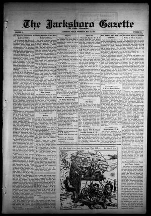 Primary view of object titled 'The Jacksboro Gazette (Jacksboro, Tex.), Vol. 51, No. 50, Ed. 1 Thursday, May 14, 1931'.