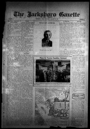 Primary view of object titled 'The Jacksboro Gazette (Jacksboro, Tex.), Vol. 51, No. 34, Ed. 1 Thursday, January 22, 1931'.
