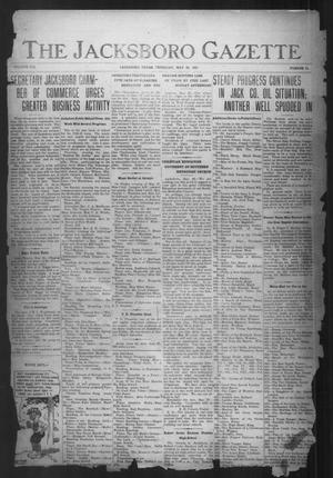 Primary view of object titled 'The Jacksboro Gazette (Jacksboro, Tex.), Vol. 41, No. 51, Ed. 1 Thursday, May 26, 1921'.