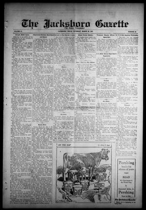 Primary view of object titled 'The Jacksboro Gazette (Jacksboro, Tex.), Vol. 51, No. 43, Ed. 1 Thursday, March 26, 1931'.