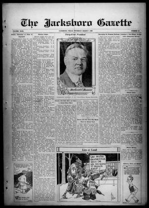 Primary view of object titled 'The Jacksboro Gazette (Jacksboro, Tex.), Vol. 49, No. 40, Ed. 1 Thursday, March 7, 1929'.