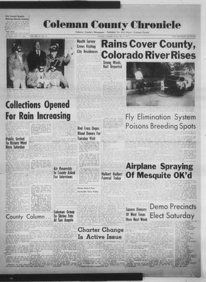 Primary view of object titled 'Coleman County Chronicle (Coleman, Tex.), Vol. 20, No. 18, Ed. 1 Thursday, May 1, 1952'.