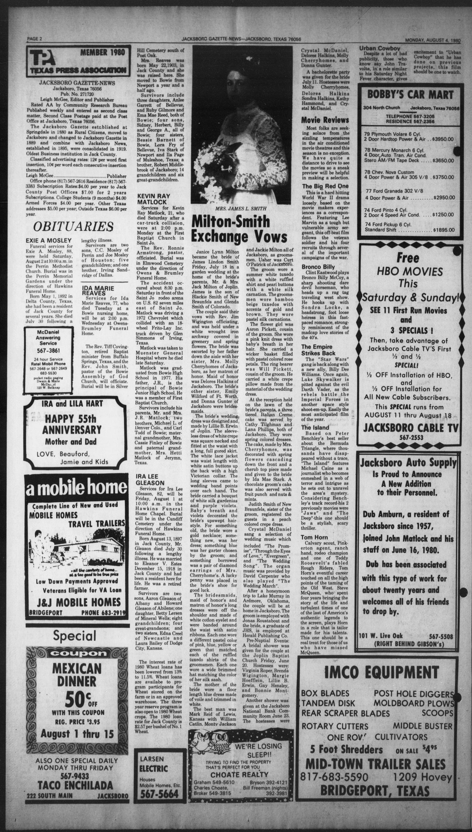 Jacksboro Gazette-News (Jacksboro 8f21ad8f6f