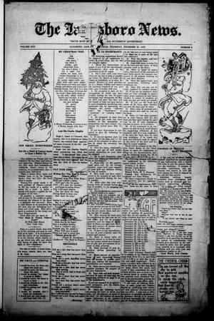 Primary view of object titled 'The Jacksboro News. (Jacksboro, Tex.), Vol. 22, No. 3, Ed. 1 Thursday, December 20, 1917'.
