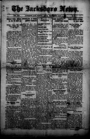 Primary view of object titled 'The Jacksboro News. (Jacksboro, Tex.), Vol. 21, No. 27, Ed. 1 Wednesday, July 4, 1917'.
