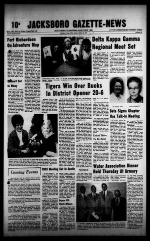 Primary view of object titled 'Jacksboro Gazette-News (Jacksboro, Tex.), Vol. 94, No. 22, Ed. 1 Monday, October 22, 1973'.
