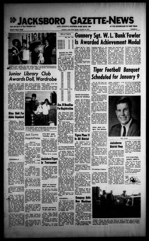 Primary view of object titled 'Jacksboro Gazette-News (Jacksboro, Tex.), Vol. 91, No. 31, Ed. 1 Monday, December 28, 1970'.