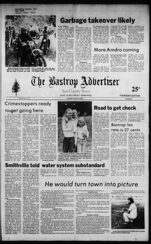 Primary view of object titled 'The Bastrop Advertiser and County News (Bastrop, Tex.), No. 66, Ed. 1 Thursday, October 14, 1982'.