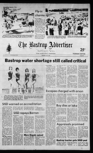Primary view of object titled 'The Bastrop Advertiser and County News (Bastrop, Tex.), No. 42, Ed. 1 Thursday, July 22, 1982'.