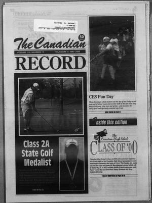 Primary view of object titled 'The Canadian Record (Canadian, Tex.), Vol. 110, No. 19, Ed. 1 Thursday, May 11, 2000'.