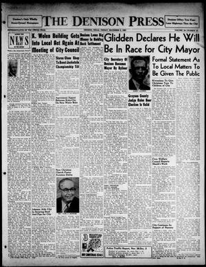 The Denison Press (Denison, Tex.), Vol. 24, No. 24, Ed. 1 Friday, December 5, 1952