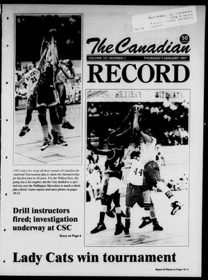Primary view of object titled 'The Canadian Record (Canadian, Tex.), Vol. 107, No. 2, Ed. 1 Thursday, January 9, 1997'.